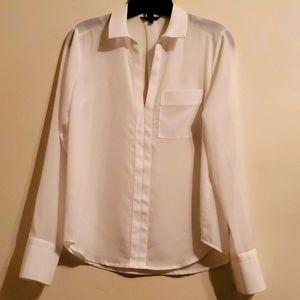 New white work blouse
